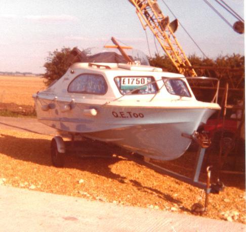Shetland 535 (1972 model) in 1977